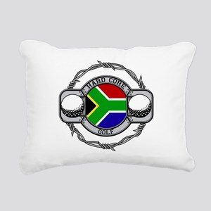 South Africa Golf Rectangular Canvas Pillow